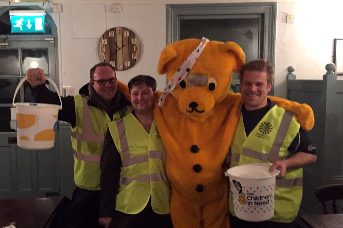 Collecting for Children in Need